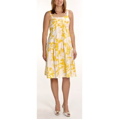 R & K Printed Sundress - Sleeveless (For Women)