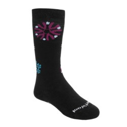 Smartwool Wintersport Snowflake Socks - Merino Wool, Over the Calf (For Kids and Youth)