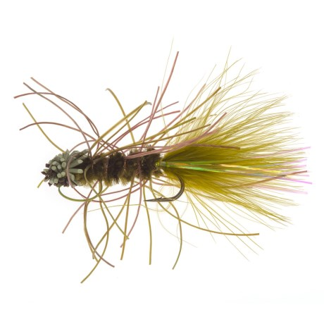 Black's Flies Bow River Rubber Bugger Streamer Fly - Dozen