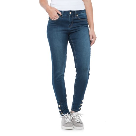Seven7 Button Ankle Jeggings (For Women)