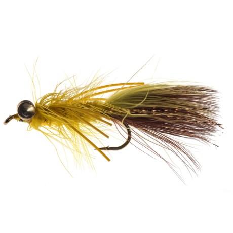 Black's Flies Lead Eye Bugger Big Hole Streamer Fly - Dozen