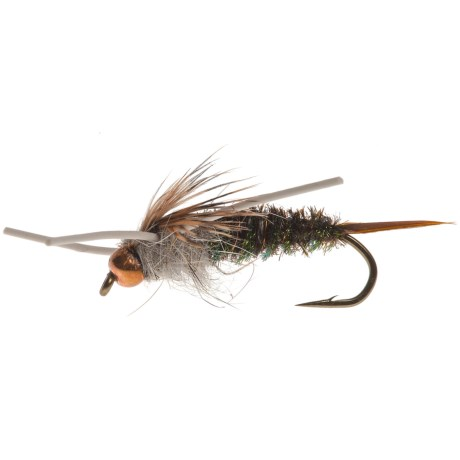 Black's Flies CB Rubberleg Twenty Incher Nymph Fly - Dozen