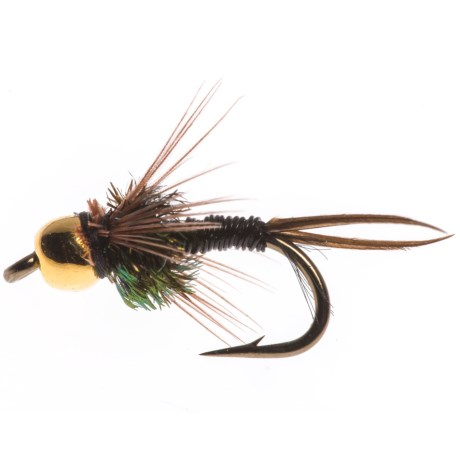 Black's Flies Gold Bead Copper John Nymph Fly - Dozen
