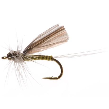 Black's Flies Hackle Dun Baetis Dry Fly - Dozen