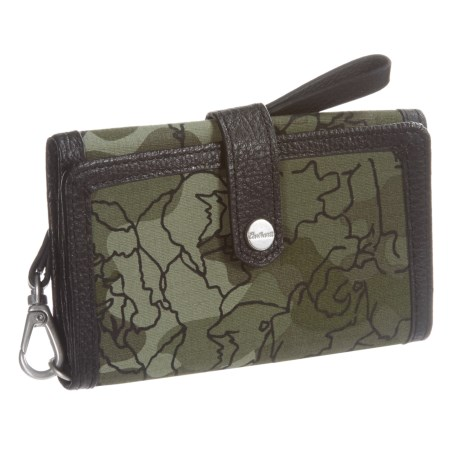 Carhartt Floral Camo Phone Clutch (For Women)