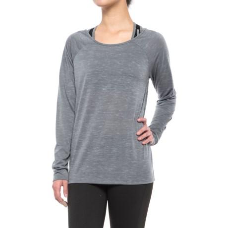 Kyodan Low-Back Shirt - Scoop Neck, Long Sleeve (For Women)