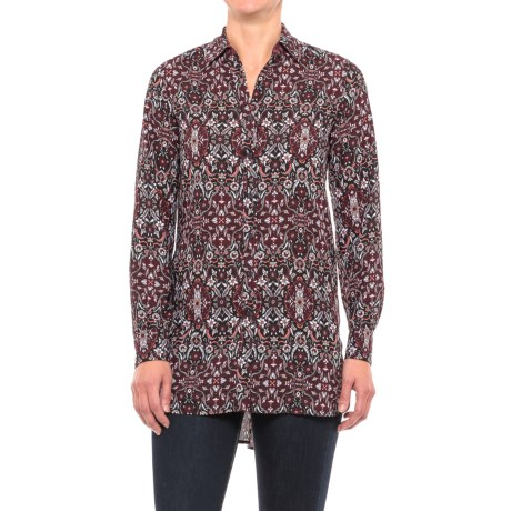 Foxcroft Jade Heirloom Paisley Tunic Shirt - Long Sleeve (For Women)