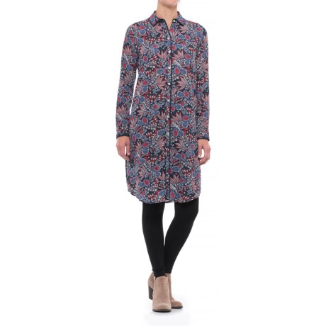 Foxcroft Brin Americana Paisley Tunic Shirt - Long Sleeve (For Women)