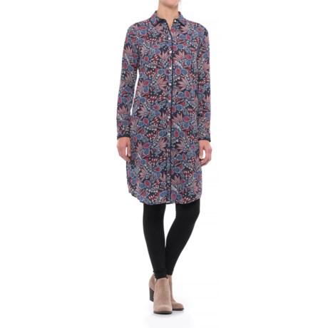 Foxcroft Brin Americana Paisley Tunic Shirt - Long Sleeve (For Women)