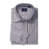 Joseph Abboud Stripe Sport Shirt - Long Sleeve (For Men)