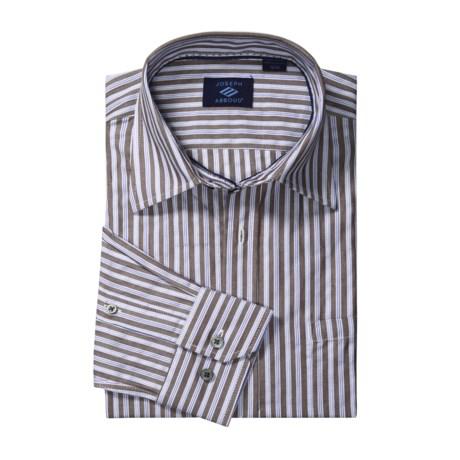 Joseph Abboud Stripe Sport Shirt - Long Sleeve (For Men)