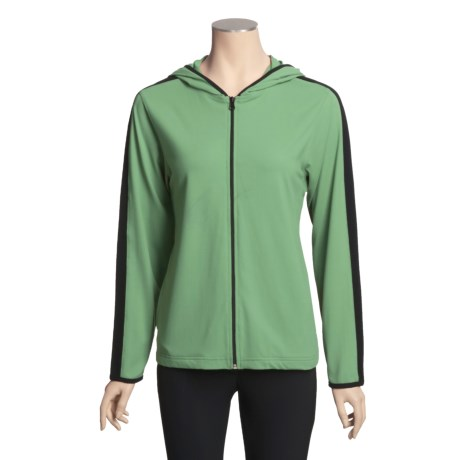 Nina Capri Tactel® Jacket - Stretch Nylon, Hooded (For Women)