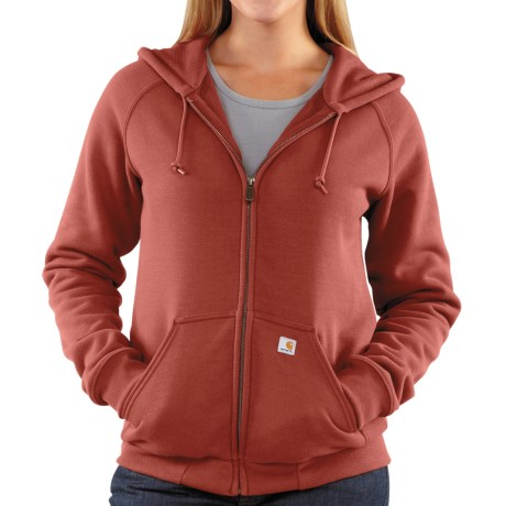 Carhartt Thermal Lined Sweatshirt - Full Zip (For Women)