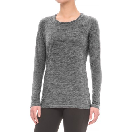 Spalding Relaxed Raglan Shirt - Long Sleeve (For Women)