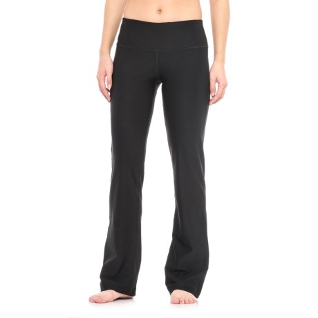 Spalding Wide-Waistband Bootcut Pants (For Women)