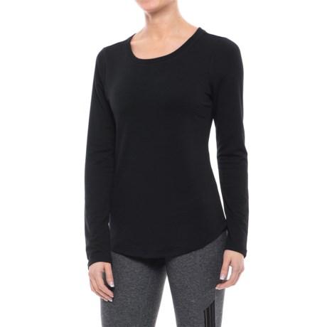 Yogalicious Keyhole Back Shirt - Long Sleeve (For Women)