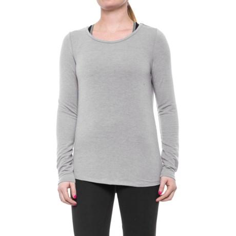 Yogalicious Split-Back Shirt - Long Sleeve (For Women)