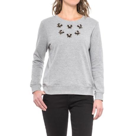 Max Jeans Crew Neck Sweatshirt (For Women)