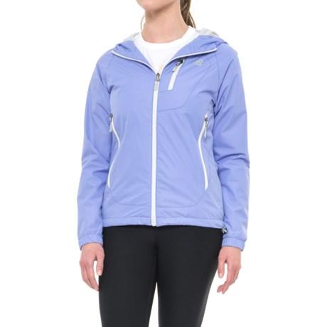 New Balance Hooded Dobby Neck Jacket (For Women)
