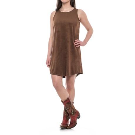 Wrangler Rock 47 Faux-Suede Tank Dress - Sleeveless (For Women)