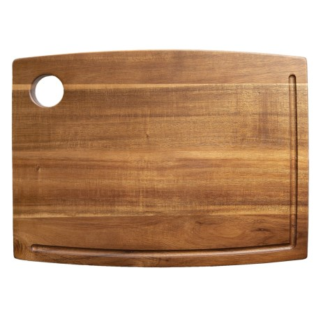 Core Bamboo Stained Acacia Wood Cutting Board - 11x15""