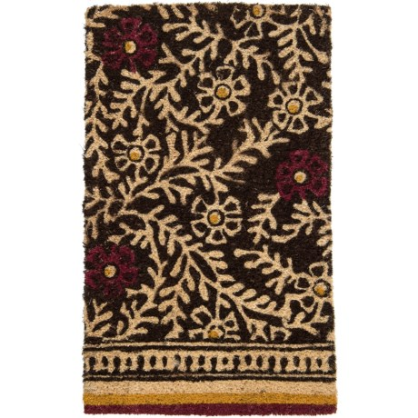 Bambeco Natural Coir Branches Doormat - 18x30""