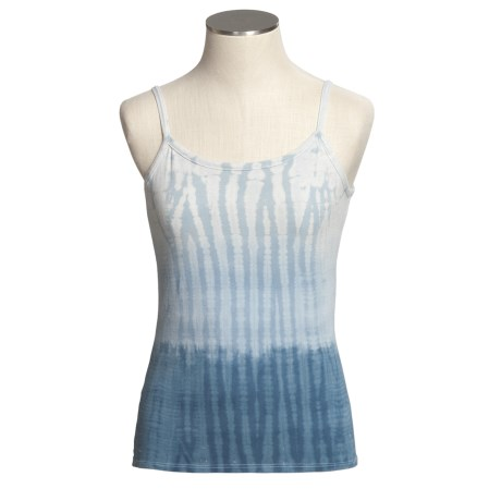 Blue Canoe Everyday Tie-Dye Tank Top - Stretch Organic Cotton (For Women)
