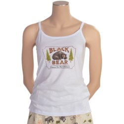 Toast and Jammies Screen-Printed Tank Top - Cotton, Missy Cut (For Women)