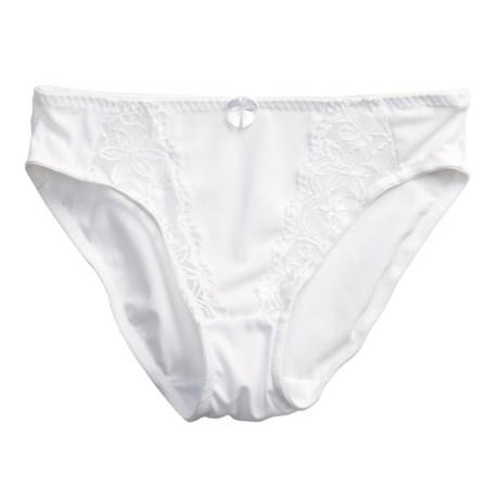 Naturana Classic Underwear Briefs - Lace Panels (For Women)