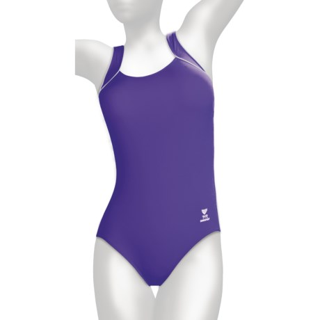 TYR Aquatic One-Piece Swimsuit - Square Neck (For Women)