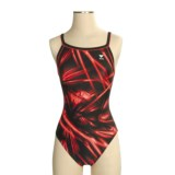 TYR Poseidon Diamondfit Compition Swimsuit - 1-Piece (For Women)