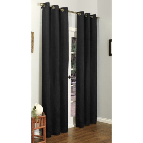 """Commonwealth Home Fashions Marseilles Curtains - 84x84"""", Grommet"""