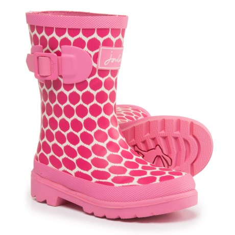 Joules Spot Rain Boots - Waterproof (For Little and Big Girls)