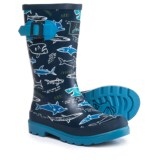 Joules Shark Facts Rain Boots - Waterproof (For Little and Big Boys)
