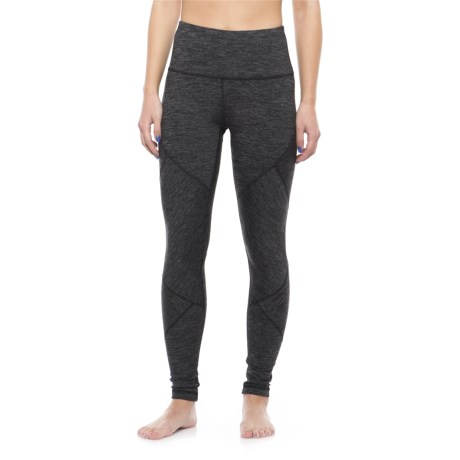 Yogalicious High-Waist Patchwork Leggings (For Women)