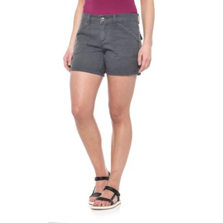 "Union Bay Alix Stretch Cotton Twill Shorts - 5"" (For Women)"