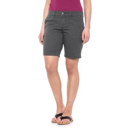 Union Bay Nadeen Chino Bermuda Shorts - Stretch Cotton Twill (For Women)