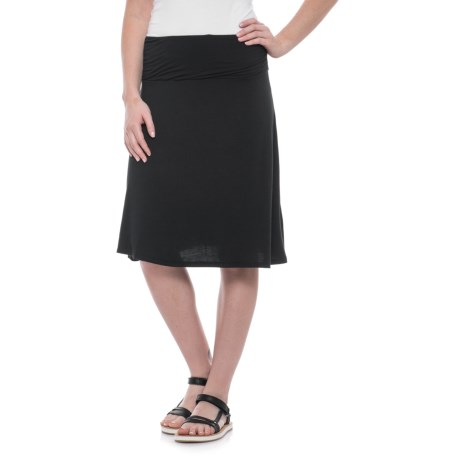 North River Gathered Waistband Jersey Skirt (For Women)