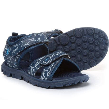 Joules Shark Facts Sport Sandals (For Boys)
