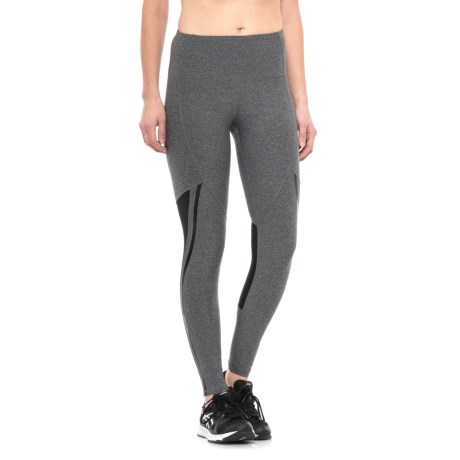 RBX Missy Full-Length Mesh Knee Leggings (For Women)