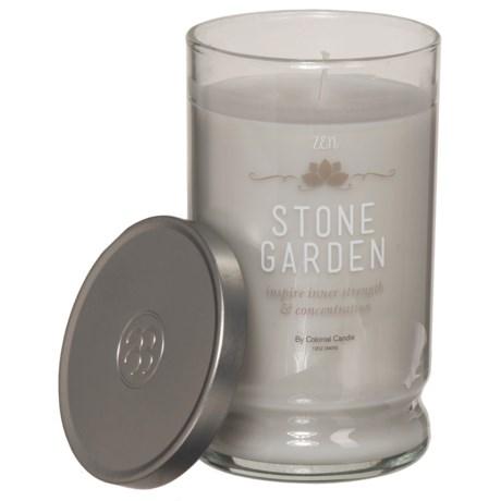 Colonial Candle Stone Garden Zen Candle - 12 oz.
