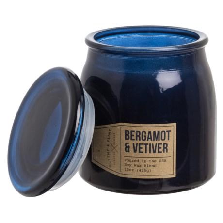 Blythe & Flint Bergamot and Vetiver Candle - 15 oz.