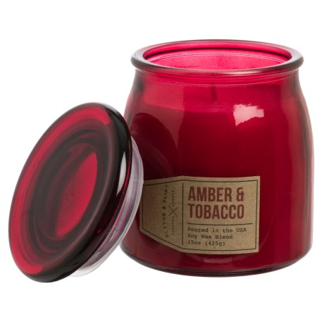 Blythe & Flint Amber and Tobacco Candle - 15 oz.