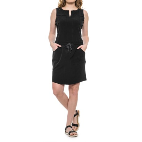 Freedom Trail Drawstring Dress - Sleeveless (For Women)