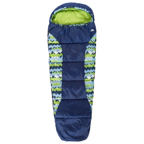 Trespass 60°F Bunka Sleeping Bag - Mummy (For Little and Big Kids)