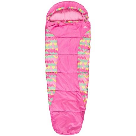 Trespass 60°F Bunka Sleeping Bag - Mummy (For Little and Big Kids)