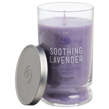 Colonial Candle Soothing Lavender Zen Candle - 12 oz.