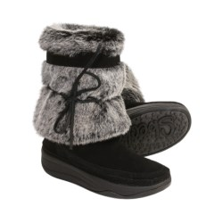 Skechers Tone-ups Chalet Boots - Suede (For Women)