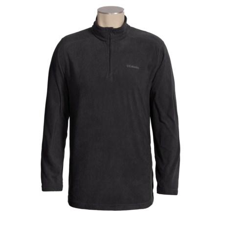 Columbia Sportswear Klamath Range II Shirt - Zip Neck, Long Sleeve (For Men)