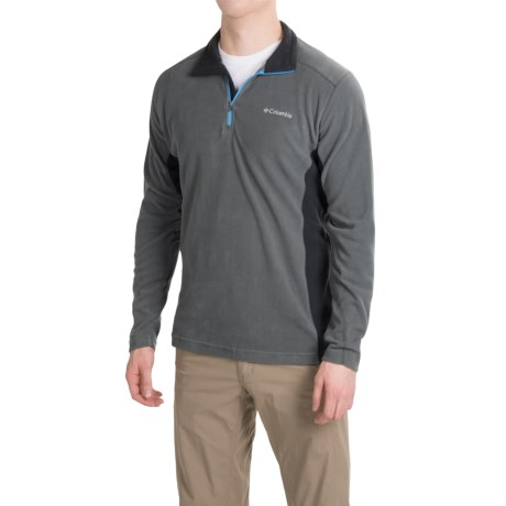 Columbia Sportswear Klamath Range II Shirt - Zip Neck, Long Sleeve (For Men)
